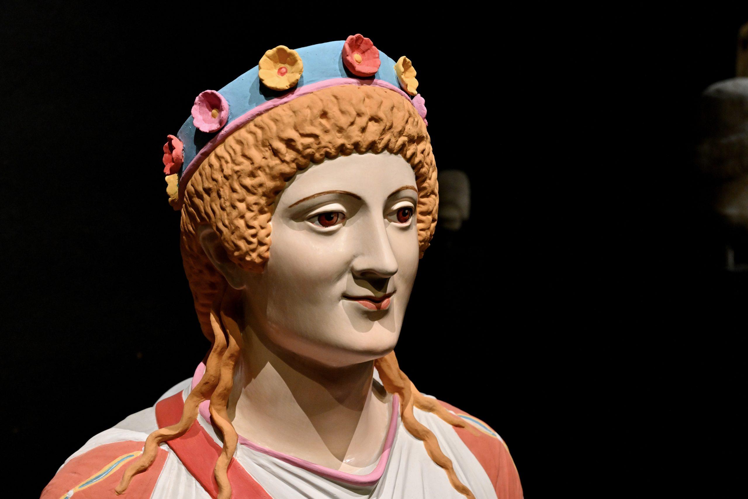 Statue der Göttin Artemis, sog. Winckelmann-Artemis, aus Pompeji.
