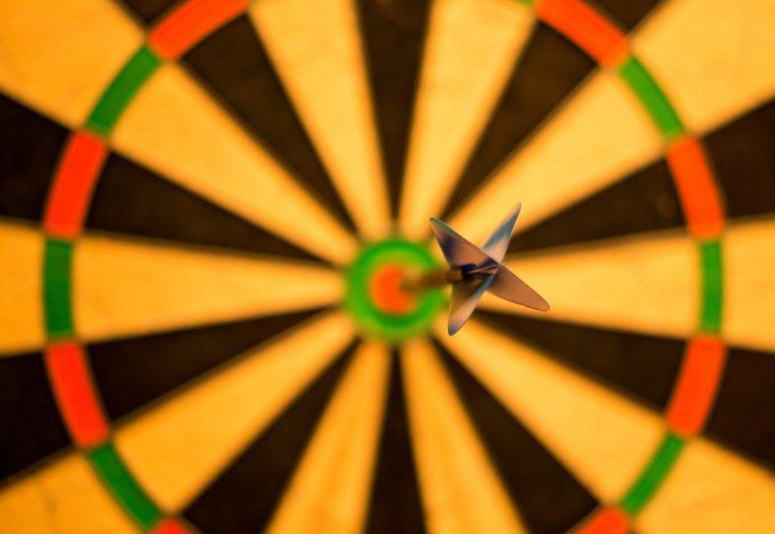 Bullseye, Treffer, Ziel