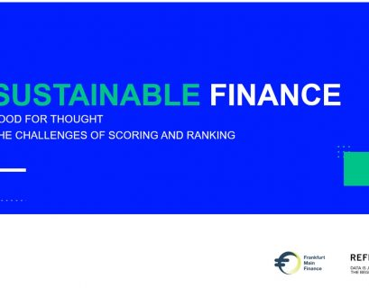 Refinitiv, Sustainable Finance, Food for Thought