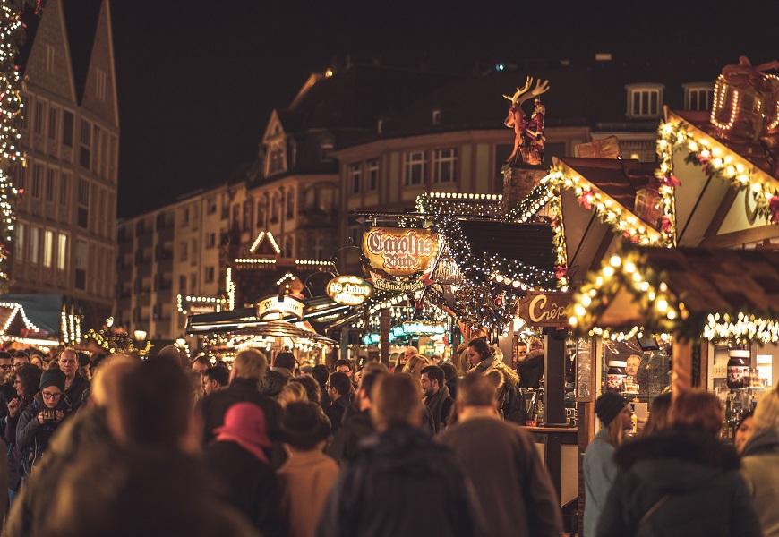 Frankfurter Weihnachtsmarkt. Virtueller Frankfurter Weihnachtsmarkt.