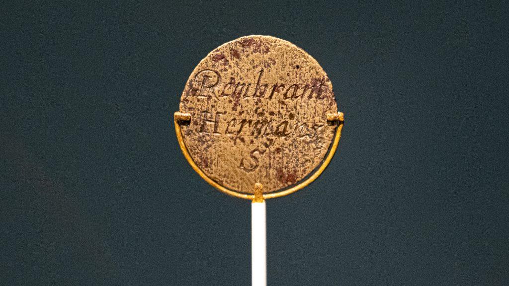Rembrandts Medaille der Lukasgilde